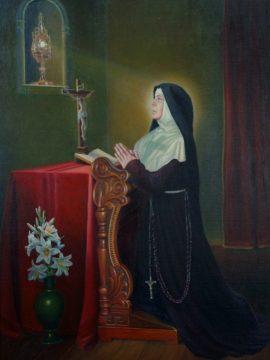 sv Klara - Jožef Kramberger 1
